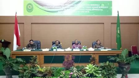 Leaders Of Pa Manna Follow The Rakor In Pta Bengkulu